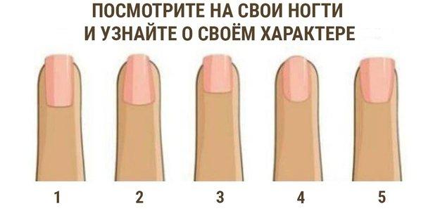 Физиогномика: посмотрите на свои ногти и узнайте о своём характере