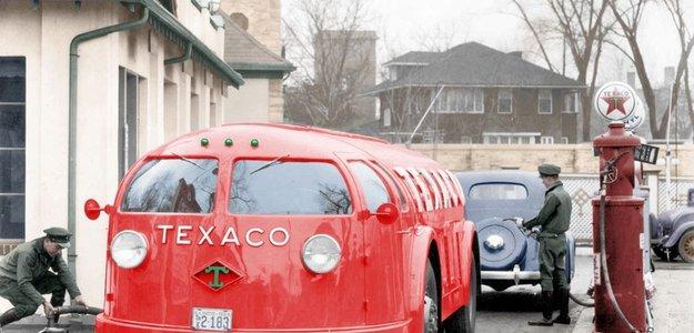 1934 Texaco Doodlebug Tanker.
