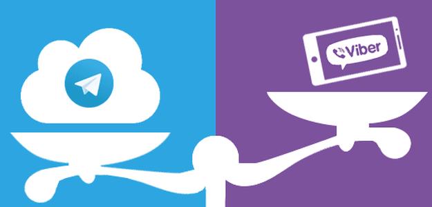 Viber vs. Telegram