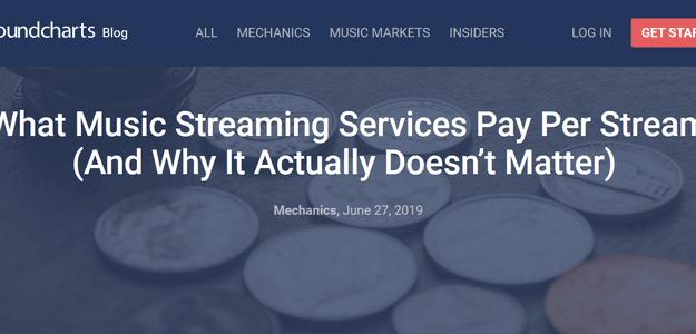 Сколько музыкальные стриминговые платформы платят за прослушивание (и почему это на самом деле не имеет значения)