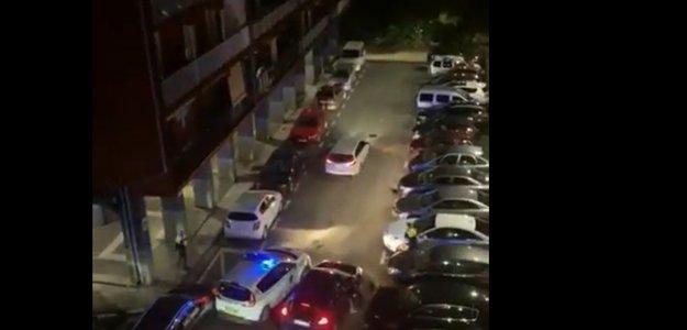 Карантин в Испании, у людей едет крыша. Ночная битва с полицией, жесть