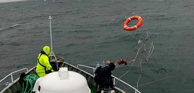 «Унесенные ветром»: на учениях Sea Breeze десантника унесло в море