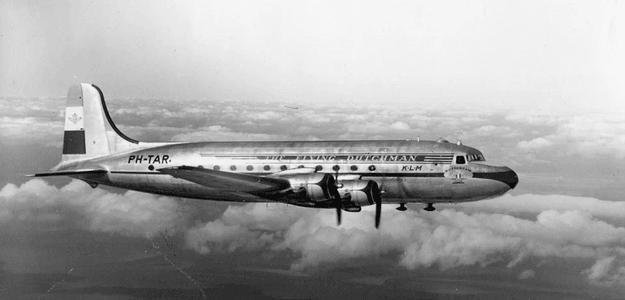 KLM's Maiden Flight across the Atlantic.