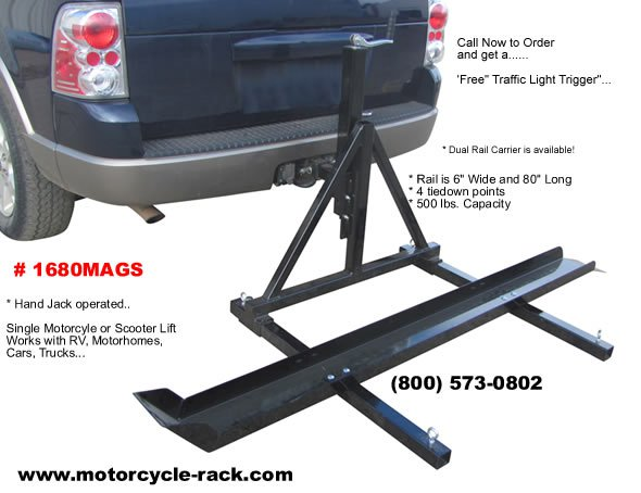 RV Motorcycle Carrier – Haul Your Bike Safely