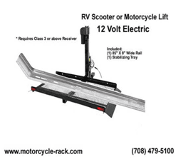 RV & Motorhome Motorcycle Lifts